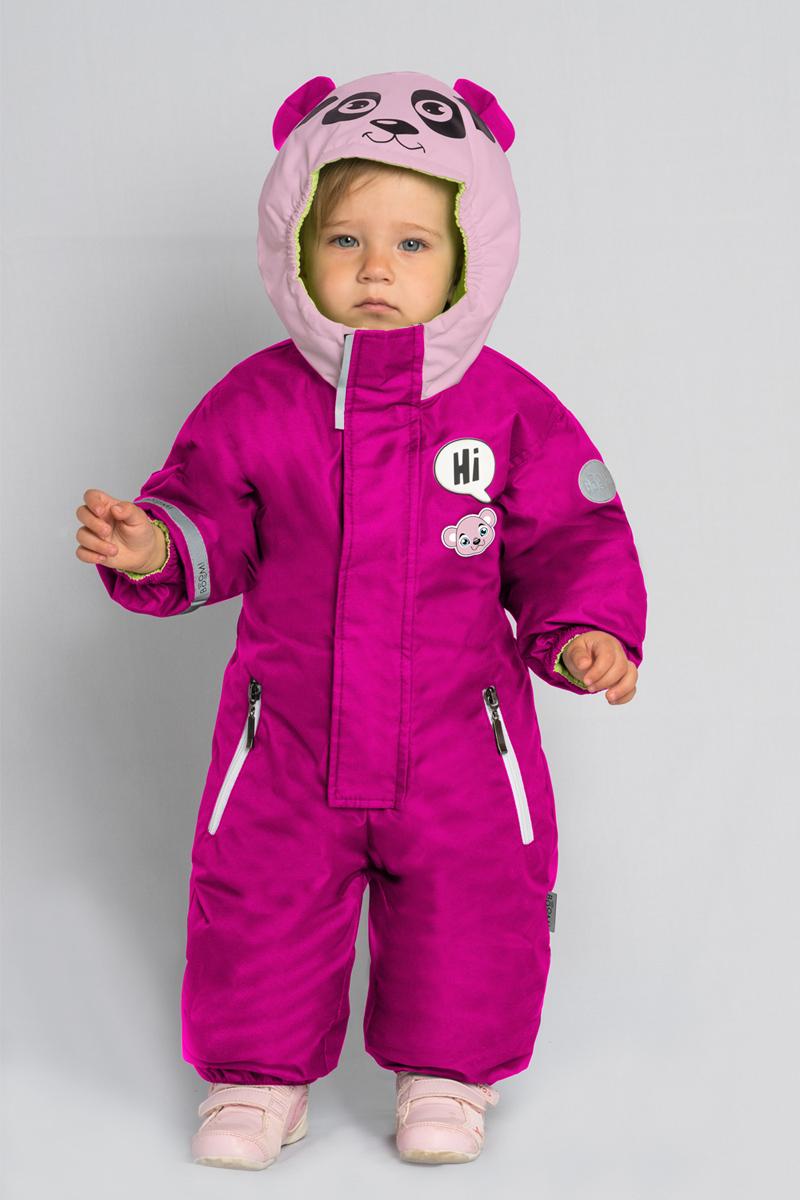 Комбинезон детский Boom!, цвет: розовый. 80049_BOU. Размер 80 мешки с мембранным клапаном для форфасов на 1000л