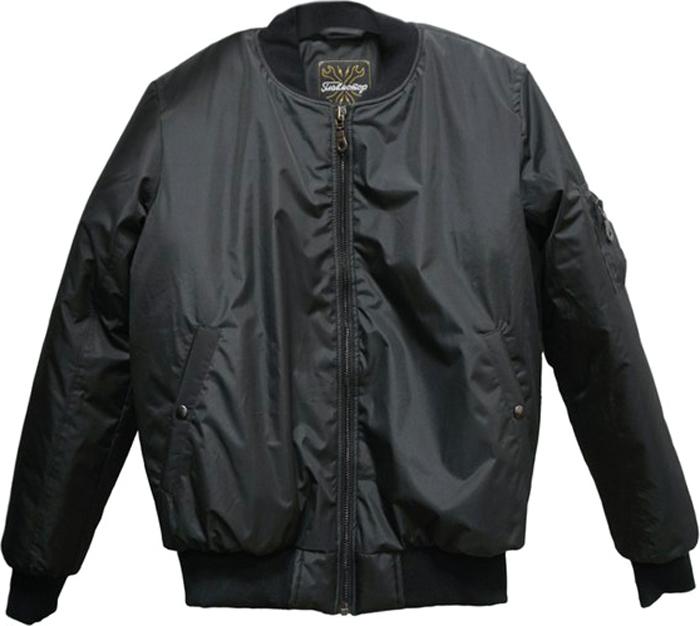 купить Бомбер мужской Главмотор, цвет: черный. БО000000001. Размер XL (52) по цене 4753 рублей