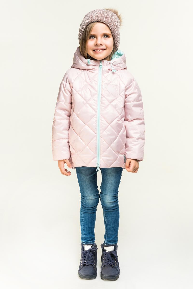 Куртка для девочки Boom!, цвет: розовый. 80027_BOG. Размер 158