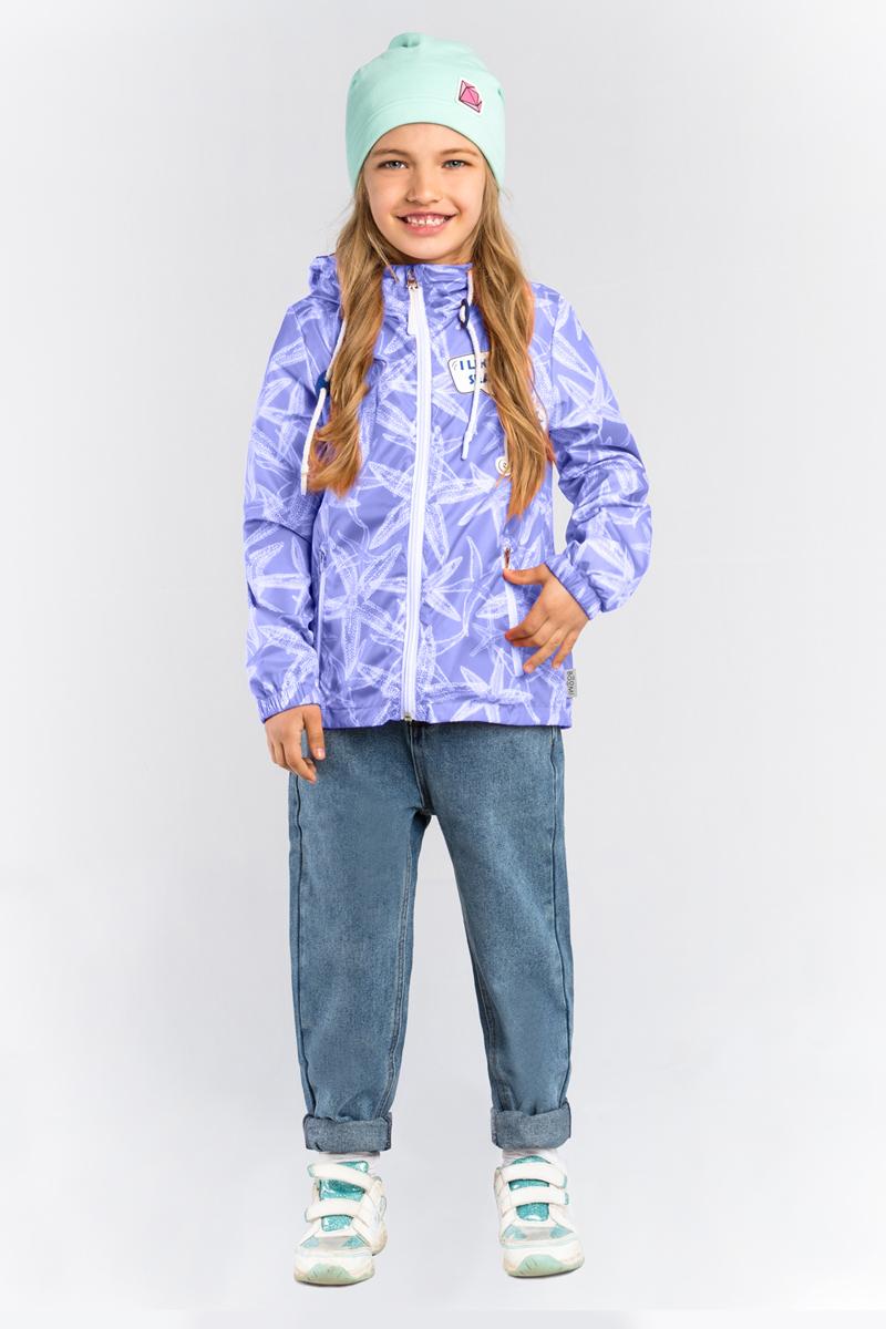 Ветровка для девочки Boom!, цвет: синий. 80001_BOG. Размер 158