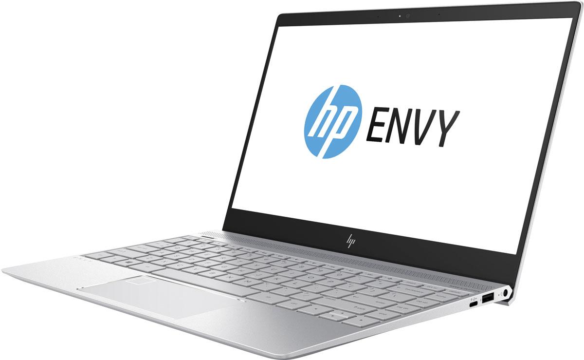 HP Envy 13-ad108ur, Pike Silver (2PP97EA)1000445786Удивительно компактный, но при этом обладающий необычайной мощностью, новейший ноутбук HP Envy 13 отвечает всем требованиям к портативности. Этот небольшой, изящный и оснащенный новейшим оборудованием ноутбук справится с любыми задачами, даже с необыкновенно сложными.Процессор Intel Core i7 8-го поколения. Это высокопроизводительное решение легко справится с большим количеством задач, улучшая возможности работы с ПК и обеспечивая потрясающее качество видео с разрешением 4K.Аккумулятор c большим ресурсом работы и новейший процессор Intel Core вместе обеспечивают невероятную производительность и позволяют справиться даже с самыми сложными задачами. Компактный. Легкий. Облегчающий жизнь. Это легкое (от 1,38 кг), но мощное устройство было разработано для максимальной мобильности. Тщательно продуманные элементы дизайна и дисплей с ультратонкой рамкой обеспечивают стильный и компактный вид этого устройства в цельнометаллическом корпусе.Пробудите свои чувства. Необыкновенно яркий дисплей IPS формата UHD, четыре динамика HP с глубокими басами и профессиональная аудиосистема Bang & Olufsen задают новый уровень качества развлечений.Дисплей Ultra HD IPS. Оцените потрясающую четкость изображения с любого угла. Благодаря широкому углу обзора 178° и высокому разрешению 3840x2160 изображение на экране будет отлично выглядеть с любой стороны.Твердотельный накопитель. Благодаря отсутствию движущихся частей (которые характерны для традиционных жестких дисков) твердотельные накопители отличаются большей эффективностью, надежностью и производительностью. Вам больше не придется ждать завершения долгой загрузки или передачи файлов.Используйте удобный разъем USB Type C для зарядки устройства, подключения внешних дисплеев или передачи данных на скорости до 5 Гбит/с. Разъем специально устроен таким образом, чтобы в него можно было вставлять кабели любой стороной.Технология быстрой зарядки HP Fast Charge. Вам больше не придется ждать зарядки