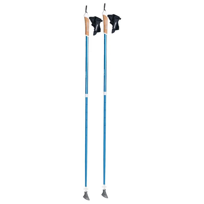 Палки для скандинавской ходьбы Komperdell Spirit Vario, цвет: синий, длина 85-125 см, 2 шт1842340-04Палки для скандинавской ходьбы с возможностью регулирования для различных нужд. Устойчивые и надежные. Внешний замок позволяет легко и быстро менять длину и настройки палки.Особенности:- для скандинавской ходьбы- две секции- темляк с технологиеи click-in- дополнительная мягкая вставка на рукоятке- наконечники для всех сезоновТехнические характеристики:Количество секций: 2Диаметр секций: O 16/14 ммДлина в сложенном виде: 85 смМаксимальная длина 125 смОсновной материал: алюминиевый сплав 7075-Т6Материал рукоятки: пенный, с технологией click-in.