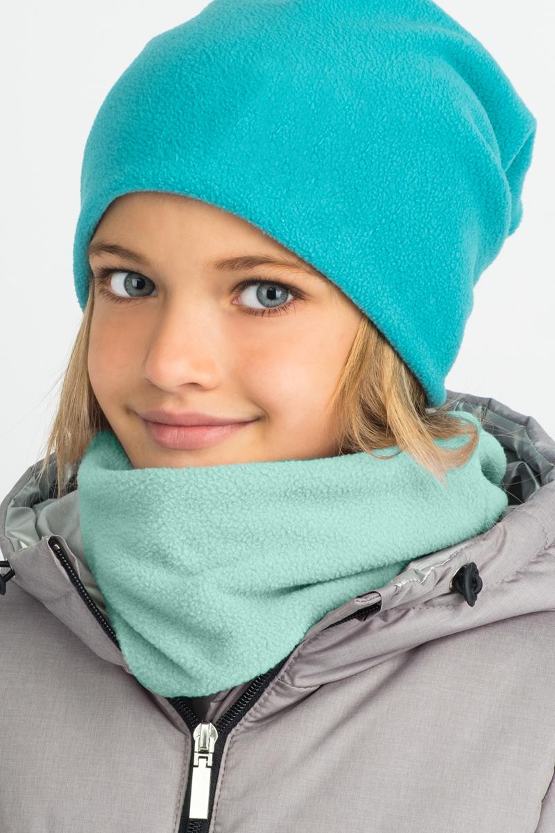 Шарф детский Boom!, цвет: зеленый. 80269_BAU. Размер универсальный80269_BAU