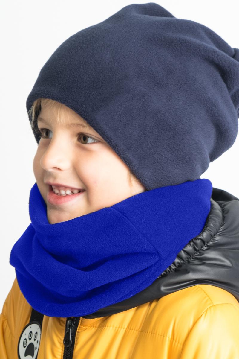 Шарф детский Boom!, цвет: синий. 80272_BAU. Размер универсальный80272_BAU