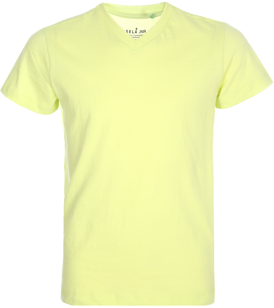 Футболка для мальчика Sela, цвет: желтый. Ts-811/303-8152. Размер 122Ts-811/303-8152