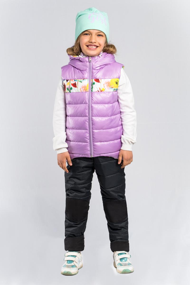 Жилет для девочки Boom!, цвет: розовый. 80024_BOG. Размер 15280024_BOG