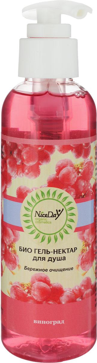 Nice Day Био гель-нектар для душа Виноград, 150 мл20253315Мягкая «зеленая» формула создана специально для бережного очищения тела во время мытья: убирает излишки кожного сала, отмершие частички кожи, не царапает, не сушит кожу. Экстракты календулы и винограда в составе тонизируют и насыщают витамином С, предотвращая преждевременное старение кожи, а также обладают противовоспалительными свойствами. Пленительный аромат винограда погружает в чувственную атмосферу волшебства, гармонии и красоты.