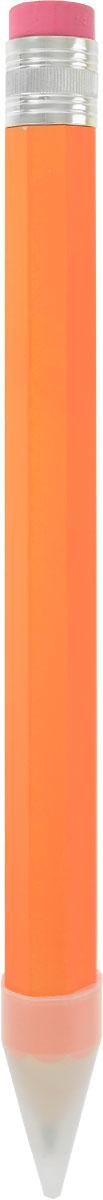 Эврика Карандаш с ластиком 40 см89987/оранжевыйОчень большой карандаш с ластиком- это увеличенная копия широко известного предмета канцелярии. Пользоваться им можно так же, как и обычным карандашом. Карандаш изготовлен из натурального дерева и оформлен черно-желтыми полосами.Толщина грифеля: 0,7 см. Карандаш дополнен ластиком и прозрачным колпачком.Такой карандаш - забавный подарок для каждого Большого Человека.