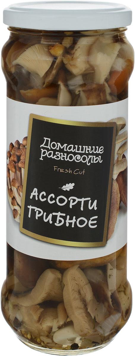 Домашние разносолы грибное ассорти, 580 мл молочная смесь nan антиколики с рождения 400 г