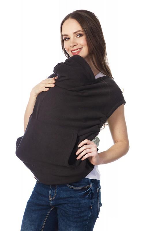 Купить Накидка для слингомамы Mum's Era Агата, цвет: темно-серый. 35976. Размер универсальный