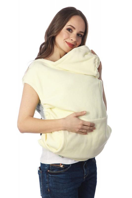 Купить Накидка для слингомамы Mum's Era Агата, цвет: светло-бежевый. 35975. Размер универсальный