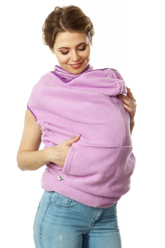 Купить Накидка для слингомамы Mum's Era Веста, цвет: сиреневый. 35547. Размер универсальный