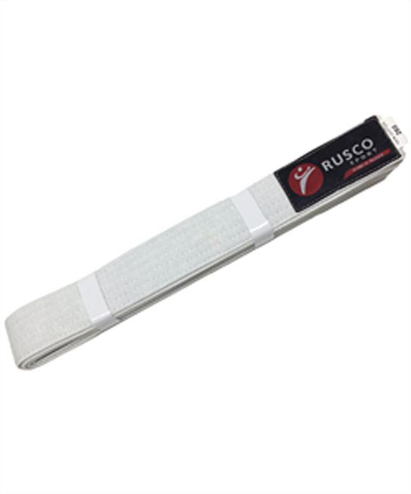 Пояс для единоборств Rusco, цвет: белый. УТ-00001919. Длина 280 смПояс УТ-0000Пояс для единоборств предназначен для занятий различными боевыми искусствами.