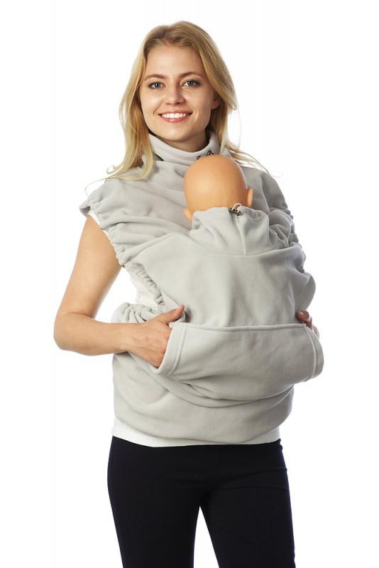 Купить Накидка для слингомамы Mum's Era Молли, цвет: светло-серый. 35900. Размер универсальный