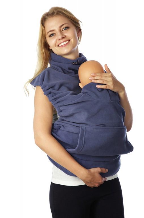 Купить Накидка для слингомамы Mum's Era Молли, цвет: синий. 35905. Размер универсальный