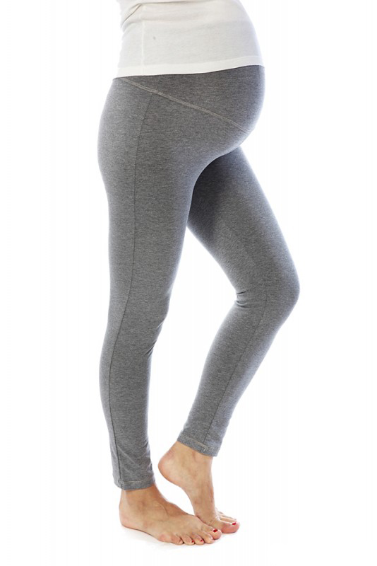 Лосины для беременных Mum's Era Люсия, цвет: серый. 35890. Размер S (44)