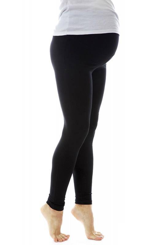Лосины для беременных Mum's Era Люсия, цвет: черный. 34384. Размер S (44)