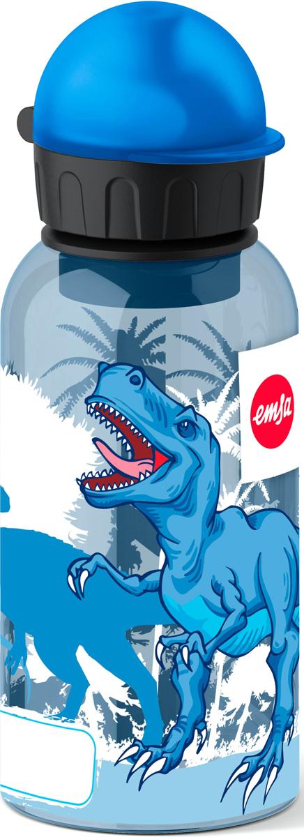 Фляжка Emsa Динозавр, цвет: голубой, 400 мл514402Детская питьевая фляжка Emsa изготовлена из алюминия и пищевого пластика. Можно мыть в посудомоечной машине.
