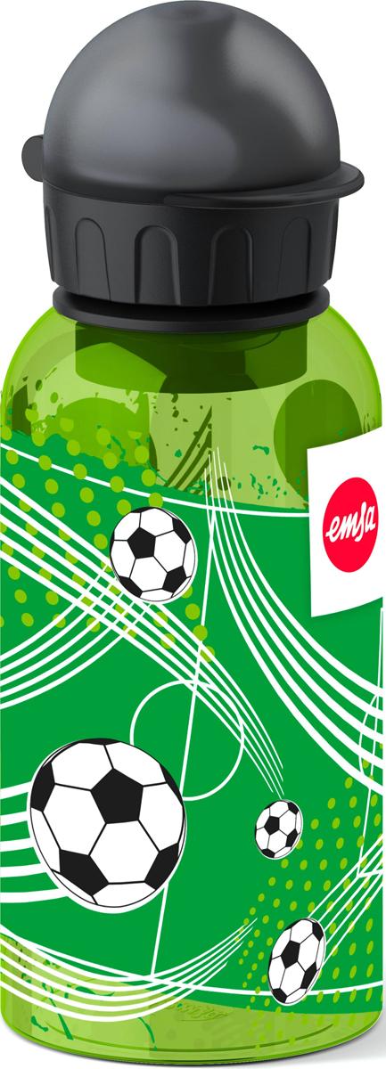 Фляжка Emsa Футболист, цвет: светло-зеленый, 400 мл514398Детская питьевая фляжка Emsa изготовлена из алюминия и пищевого пластика. Можно мыть в посудомоечной машине.