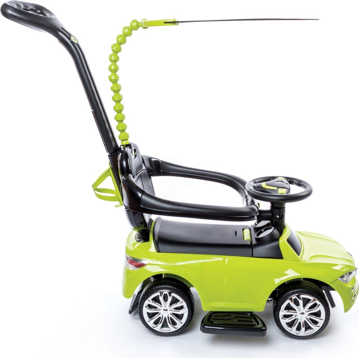 Happy Baby Машина-каталка Jeepsy цвет зеленый -  Каталки, понициклы
