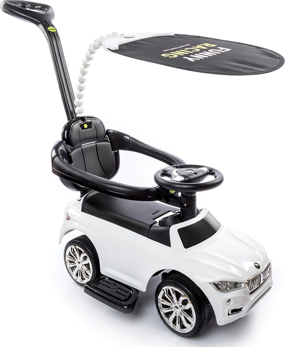 Happy Baby Машина-каталка Jeepsy цвет белый -  Каталки, понициклы