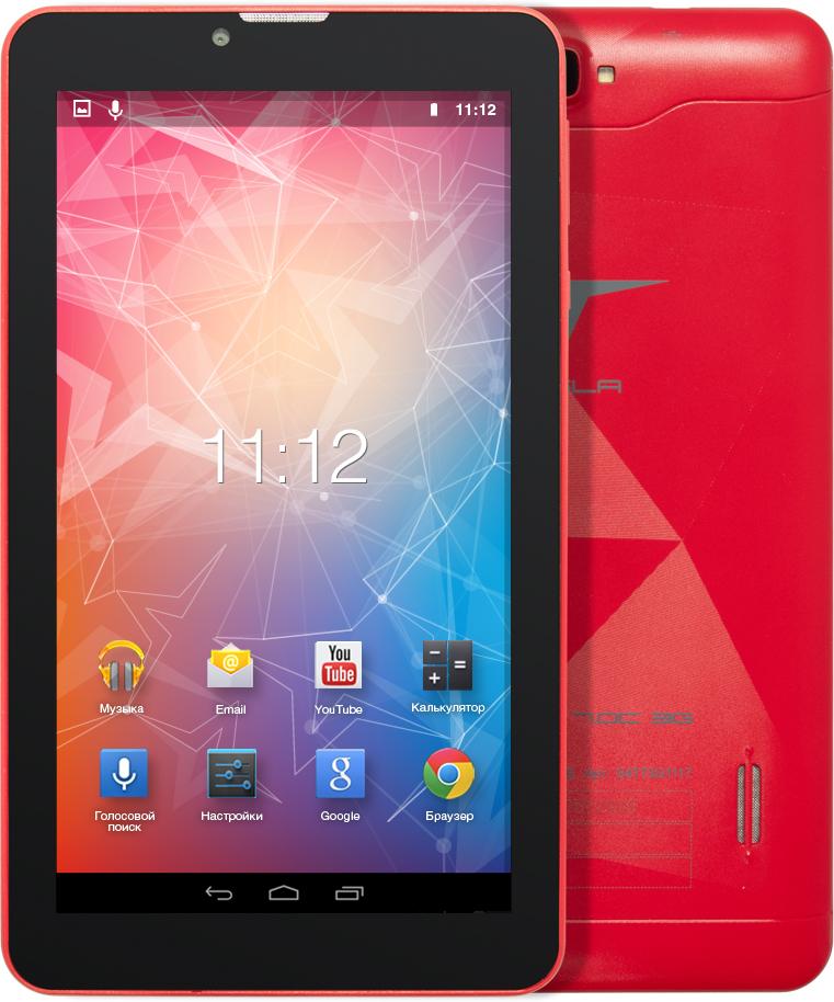 Tesla Impulse 7.0C 3G, RedУТ-00000164Tesla Impulse 7.0C 3G практичный планшетный компьютер. Четырёх ядерный процессор с частотой 1.3 ГГц и 1 ГБ оперативной памяти позволит с легкостью пользоваться многочисленными приложениями для Android. Диагональ дисплея 7. Разрешение экрана 1024х600 пикселей позволит просматривать фильмы в хорошем качестве. Встроенная память объемом 8 ГБ и карточка microSD вместит всю необходимую информацию. Модули 3G и Wi-Fi обеспечивают постоянный доступ к сети интернет. При помощи встроенного GPS-модуля вы всегда сможете определить точное местонахождение.Планшет сертифицирован EAC и имеет русифицированный интерфейс, меню и Руководство пользователя.