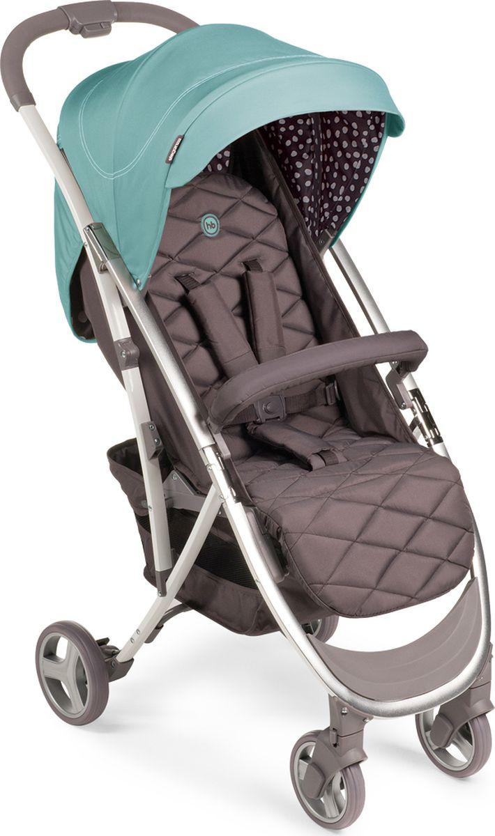Happy Baby Коляска прогулочная Eleganza V2 Aqua цвет голубой коричневый -  Коляски и аксессуары