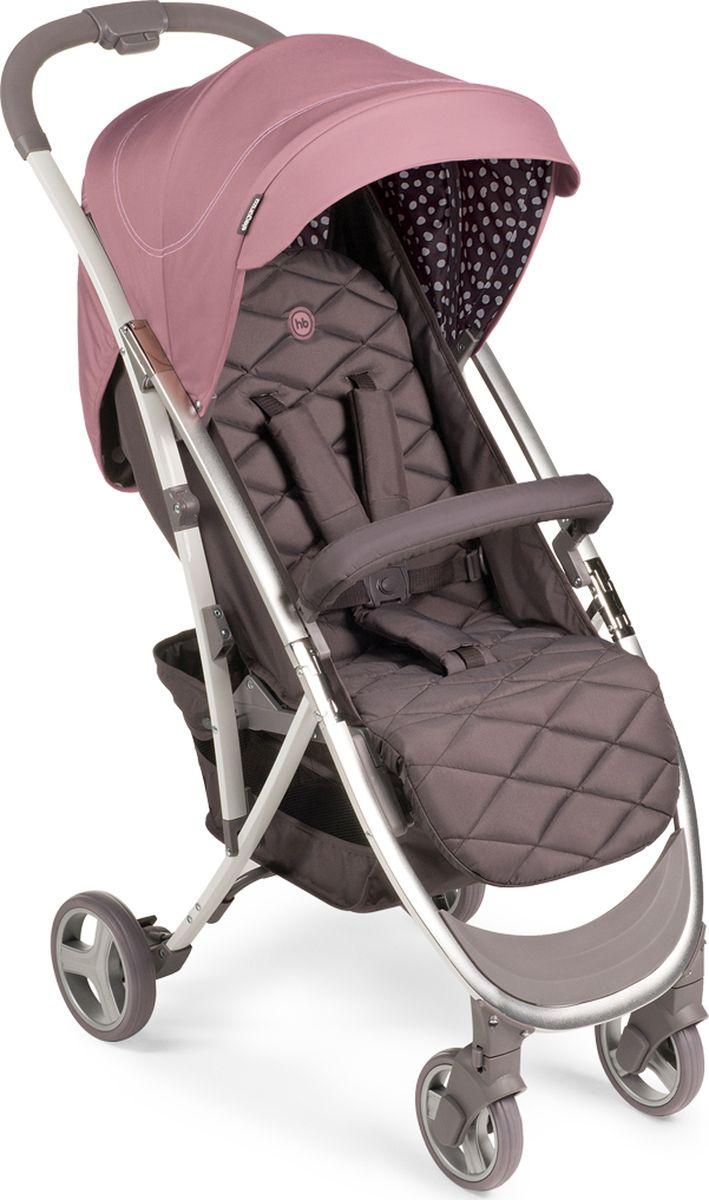 Happy Baby Коляска прогулочная Eleganza V2 Pink цвет розовый коричневый -  Коляски и аксессуары