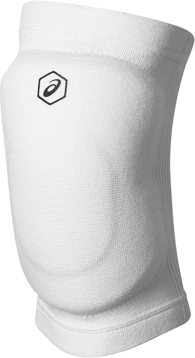 Наколенники волейбольные Asics Gel Kneepad, цвет: белый. Размер M146815Наколенники Asics Gel Knee Pad для профессиональных игроков в волейбол. Вставки амортизирующего геля (Asics Gel) и пены (полиуретан) эффективно поглощают удары и принимают форму в соответствии с индивидуальными анатомическими особенностями спортсмена. Обхват ноги в области над коленной чашечкой 38-42 см