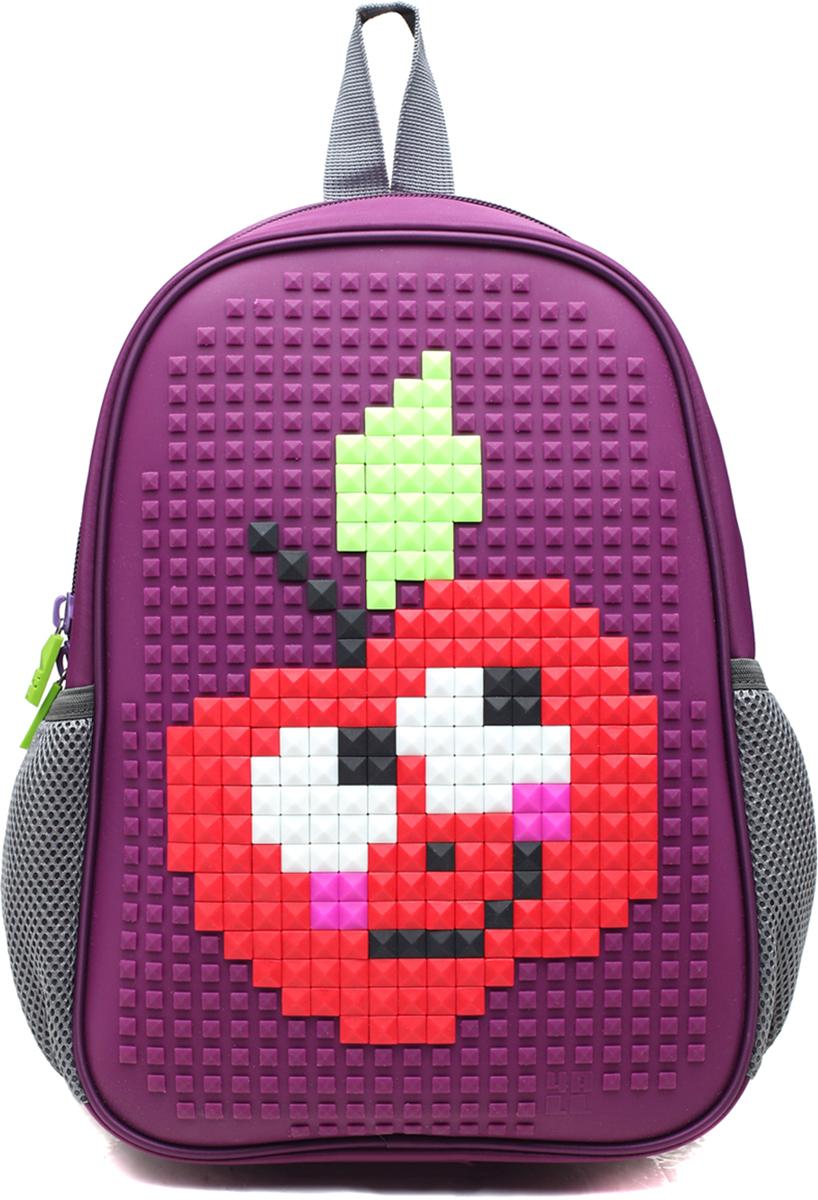 4ALL Рюкзак дошкольный Case Mini цвет фиолетовыйRC61-02NРюкзак для самых маленьких (от 3 до 6 лет)с уникальной силиконовой панелью для создания мозаичной картинки с набором крупных битов CASE.