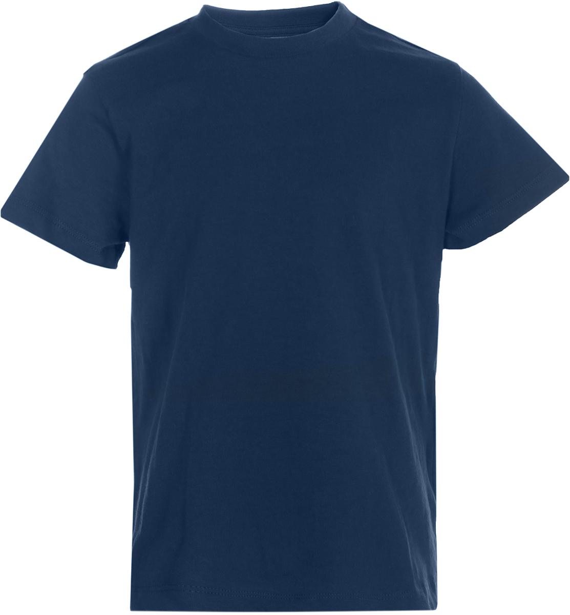 Футболка для мальчика Sela, цвет: темно-синий. Ts-711/533-8223. Размер 116Ts-711/533-8223Футболка для мальчика Sela выполнена из натурального хлопка. Модель с круглым вырезом горловины и короткими рукавами.
