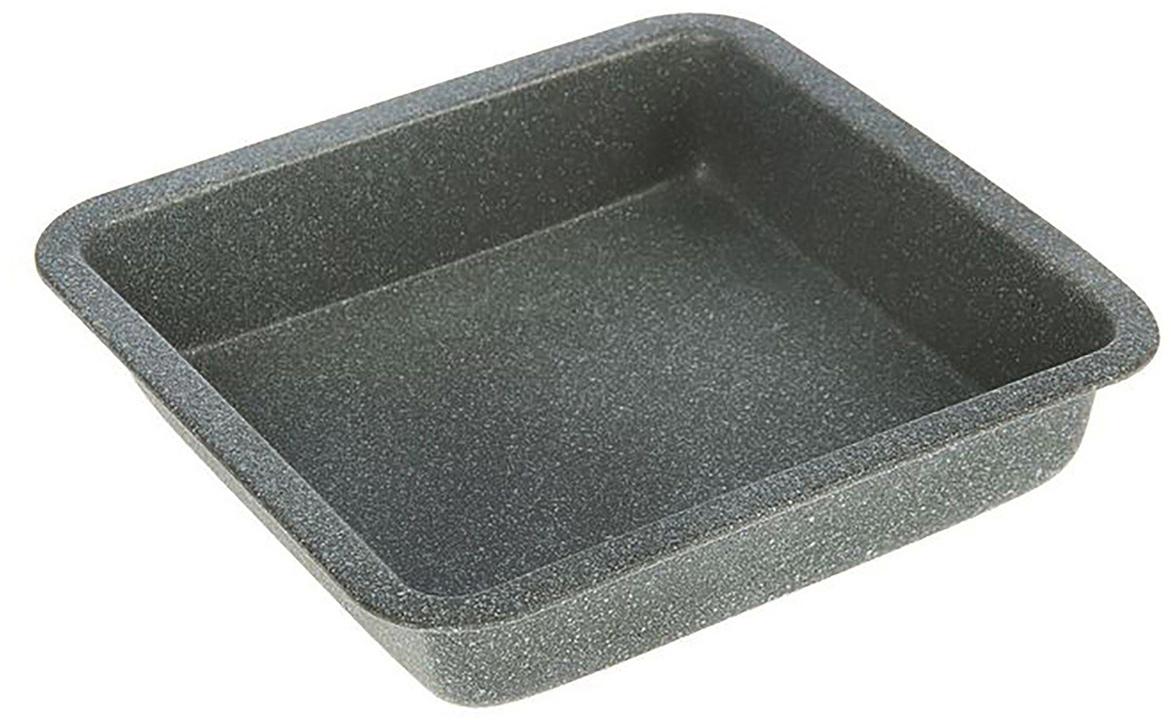 Форма с антипригарным покрытием пригодится каждому повару, который привык готовить быстро и вкусно. Достоинства предмета Материал — углеродистая сталь — отличается особой прочностью и сохраняет все эксплуатационные свойства при температуре до +450 °С. Эффективное теплораспределение ускоряет процесс готовки. Антипригарное покрытие оберегает блюда от пригорания и сокращает расход масла. Поверхность не впитывает запахов и не вступает в реакции с продуктами питания. Форма легко отмывается. При аккуратном использовании изделие прослужит долгие годы. Рекомендуется избегать применения металлических предметов, губок и высокоабразивных моющих средств. Перед первым использованием тщательно промойте форму.