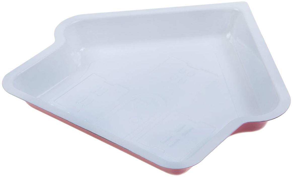 Форма для выпечки Доляна Дом. Флери, с керамическим покрытием, цвет: белый, розовый, 30 х 4 см827547_белый, розовыйФорма для выпечки с керамическим покрытием — один из самых важных предметов на кухне хорошей хозяйки. С качественной посудой радовать домашних пирогами, кексами, запеканками и прочей вкуснятиной вы сможете хоть каждый день! Достоинства изделия: равномерно распределяет тепло по всей внутренней поверхности; предотвращает пригорание пищи; способствует ее быстрому приготовлению; обладает стильным внешним видом. Кроме того, предмет не впитывает запахов и позволяет легко вынимать готовый продукт. Прочный корпус защищает изделие от внешней деформации. Рекомендуется избегать перепадов температуры: ставьте форму только в холодную или теплую духовку. Не допускайте падений и не используйте высокоабразивные моющие средства (это защитит глазурь от сколов и царапин).