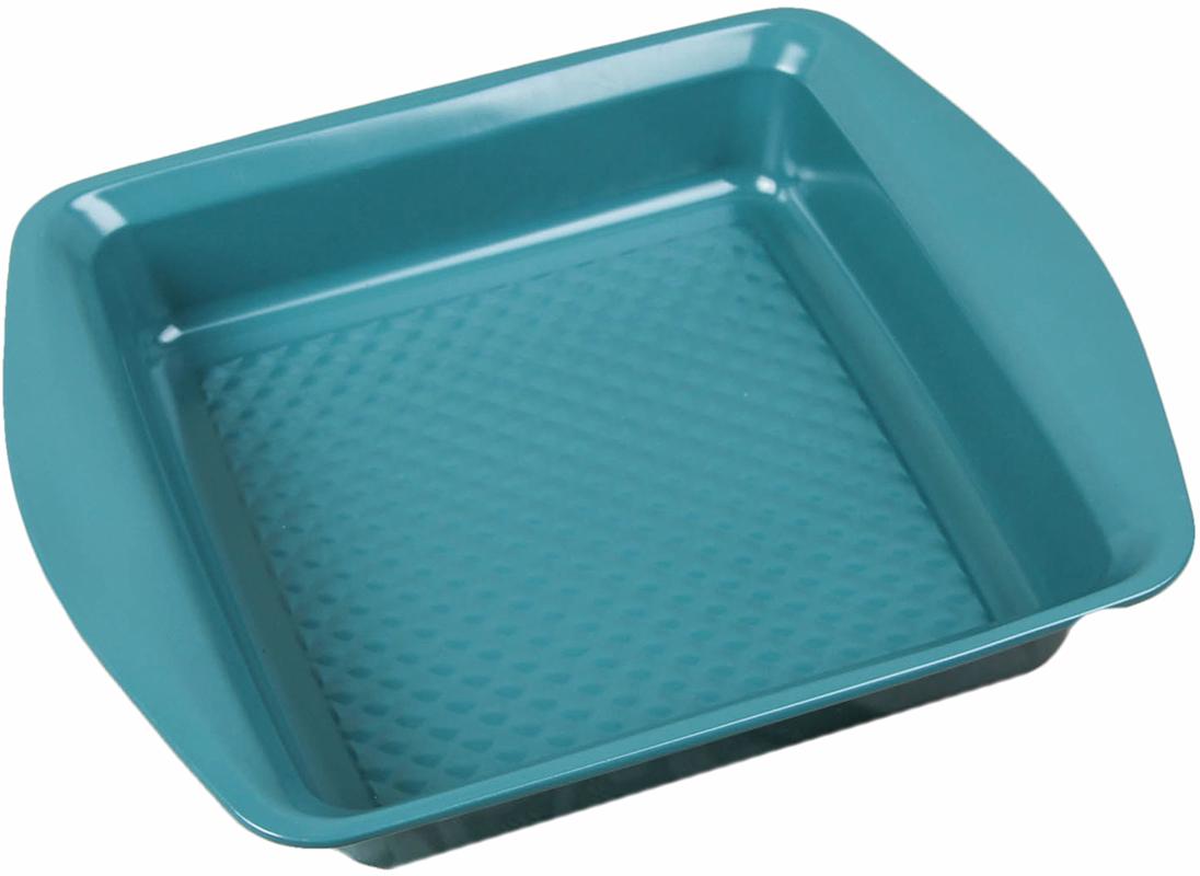 Форма для выпечки Доляна Квадрат. Бирюза, с керамическим покрытием, с ручками, 31 х 25 х 5 см2600590Форма для выпечки с керамическим покрытием - один из самых важных предметов на кухнехорошей хозяйки. С качественной посудой радовать домашних пирогами, кексами, запеканками ипрочей вкуснятиной вы сможете хоть каждый день! Достоинства изделия: равномерно распределяет тепло по всей внутренней поверхности; предотвращает пригорание пищи; способствует ее быстрому приготовлению; обладает стильным внешним видом. Кроме того, предмет не впитывает запахов и позволяет легко вынимать готовый продукт.Прочный корпус защищает изделие от внешней деформации. Рекомендуется избегать перепадов температуры: ставьте форму только в холодную или теплуюдуховку. Не допускайте падений и не используйте высокоабразивные моющие средства (этозащитит глазурь от сколов и царапин). Каквыбрать форму для выпечки – статья на OZON Гид.
