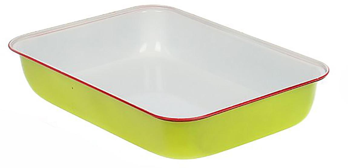 Форма для выпечки Доляна Прямоугольник. Флери, с керамическим покрытием, цвет: белый, желтый, 34 х 24 х 5 см1046820_белый, желтыйФорма для выпечки с керамическим покрытием — один из самых важных предметов на кухне хорошей хозяйки. С качественной посудой радовать домашних пирогами, кексами, запеканками и прочей вкуснятиной вы сможете хоть каждый день! Достоинства изделия: равномерно распределяет тепло по всей внутренней поверхности; предотвращает пригорание пищи; способствует ее быстрому приготовлению; обладает стильным внешним видом. Кроме того, предмет не впитывает запахов и позволяет легко вынимать готовый продукт. Прочный корпус защищает изделие от внешней деформации. Рекомендуется избегать перепадов температуры: ставьте форму только в холодную или теплую духовку. Не допускайте падений и не используйте высокоабразивные моющие средства (это защитит глазурь от сколов и царапин).