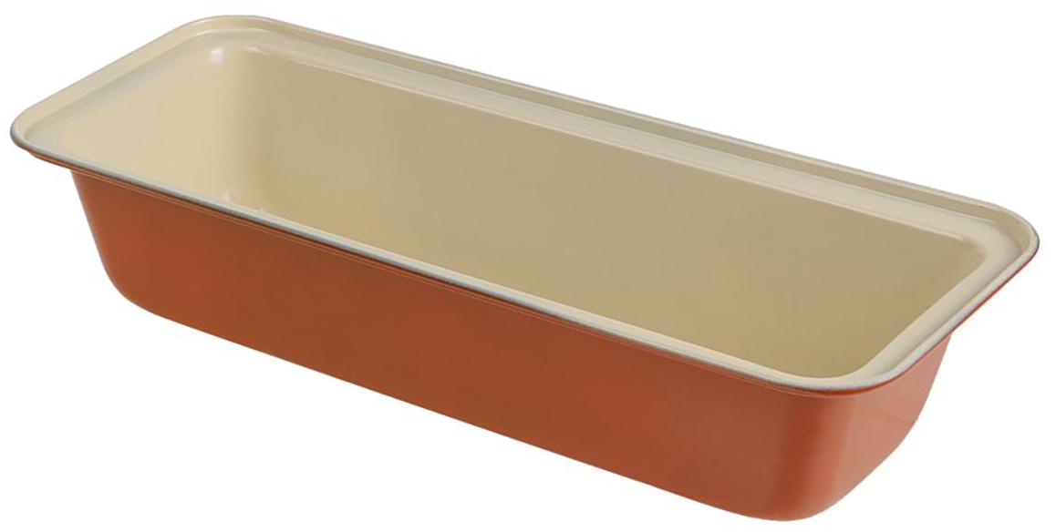 Форма для выпечки Доляна Хлеб. Флери, с керамическим покрытием, цвет: белый, коричневый, 32,5 х 16,5 х 7 см2395153_белый, коричневыйФорма для выпечки с керамическим покрытием — один из самых важных предметов на кухне хорошей хозяйки. С качественной посудой радовать домашних пирогами, кексами, запеканками и прочей вкуснятиной вы сможете хоть каждый день! Достоинства изделия: равномерно распределяет тепло по всей внутренней поверхности; предотвращает пригорание пищи; способствует ее быстрому приготовлению; форма в виде сердца прекрасно подходит для приготовления блюд для романтического вечера или праздничного стола. Кроме того, предмет не впитывает запахов и позволяет легко вынимать готовый продукт. Прочный корпус защищает изделие от внешней деформации. Рекомендуется избегать перепадов температуры: ставьте форму только в холодную или теплую духовку. Не допускайте падений и не используйте высокоабразивные моющие средства (это защитит глазурь от сколов и царапин). Как выбрать форму для выпечки – статья на OZON Гид.