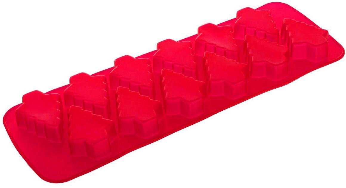 Форма для выпечки из силикона — современное решение для практичных и радушных хозяек. Оригинальный предмет позволяет готовить в духовке любимые блюда из мяса, рыбы, птицы и овощей, а также вкуснейшую выпечку. Почему это изделие должно быть на кухне? блюдо сохраняет нужную форму и легко отделяется от стенок после приготовления; высокая термостойкость (от –40 до 230 ?) позволяет применять форму в духовых шкафах и морозильных камерах; небольшая масса делает эксплуатацию предмета простой даже для хрупкой женщины; силикон пригоден для посудомоечных машин; высокопрочный материал делает форму долговечным инструментом; при хранении предмет занимает мало места. Советы по использованию формы Перед первым применением промойте предмет теплой водой. В процессе приготовления используйте кухонный инструмент из дерева, пластика или силикона. Перед извлечением блюда из силиконовой формы дайте ему немного остыть, осторожно отогните края предмета. Готовьте с удовольствием!   Как выбрать форму для выпечки – статья на OZON Гид.