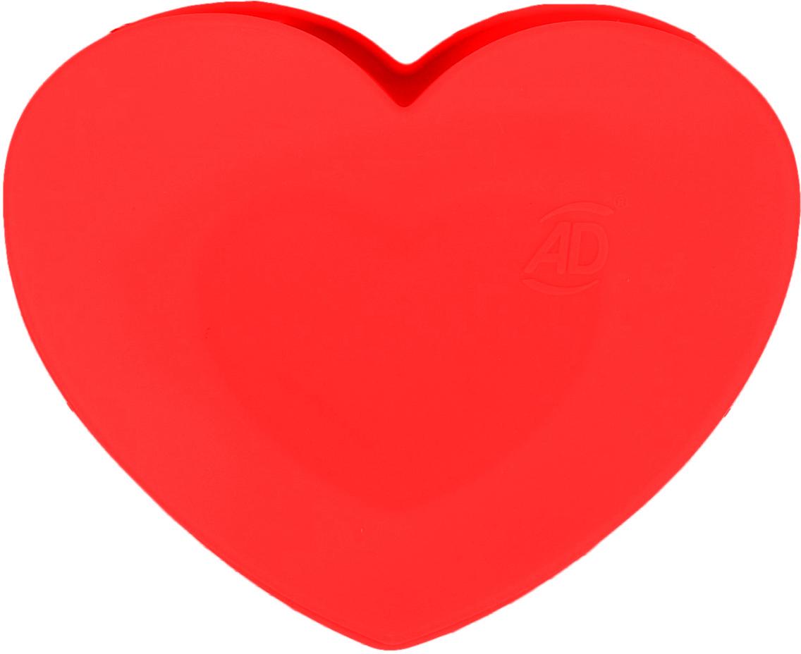 Форма для выпечки Доляна Сердце в сердце, цвет: красный, 2 ячейки2582011_красныйОт качества посуды зависит не только вкус еды, но и здоровье человека. — товар, соответствующий российским стандартам качества. Любой хозяйке будет приятно держать его в руках. С нашей посудой и кухонной утварью приготовление еды и сервировка стола превратятся в настоящий праздник.