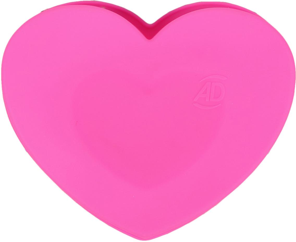 Форма для выпечки Доляна Сердце в сердце, цвет: розовый, 2 ячейки2582011_розовыйОт качества посуды зависит не только вкус еды, но и здоровье человека. — товар, соответствующий российским стандартам качества. Любой хозяйке будет приятно держать его в руках. С нашей посудой и кухонной утварью приготовление еды и сервировка стола превратятся в настоящий праздник.