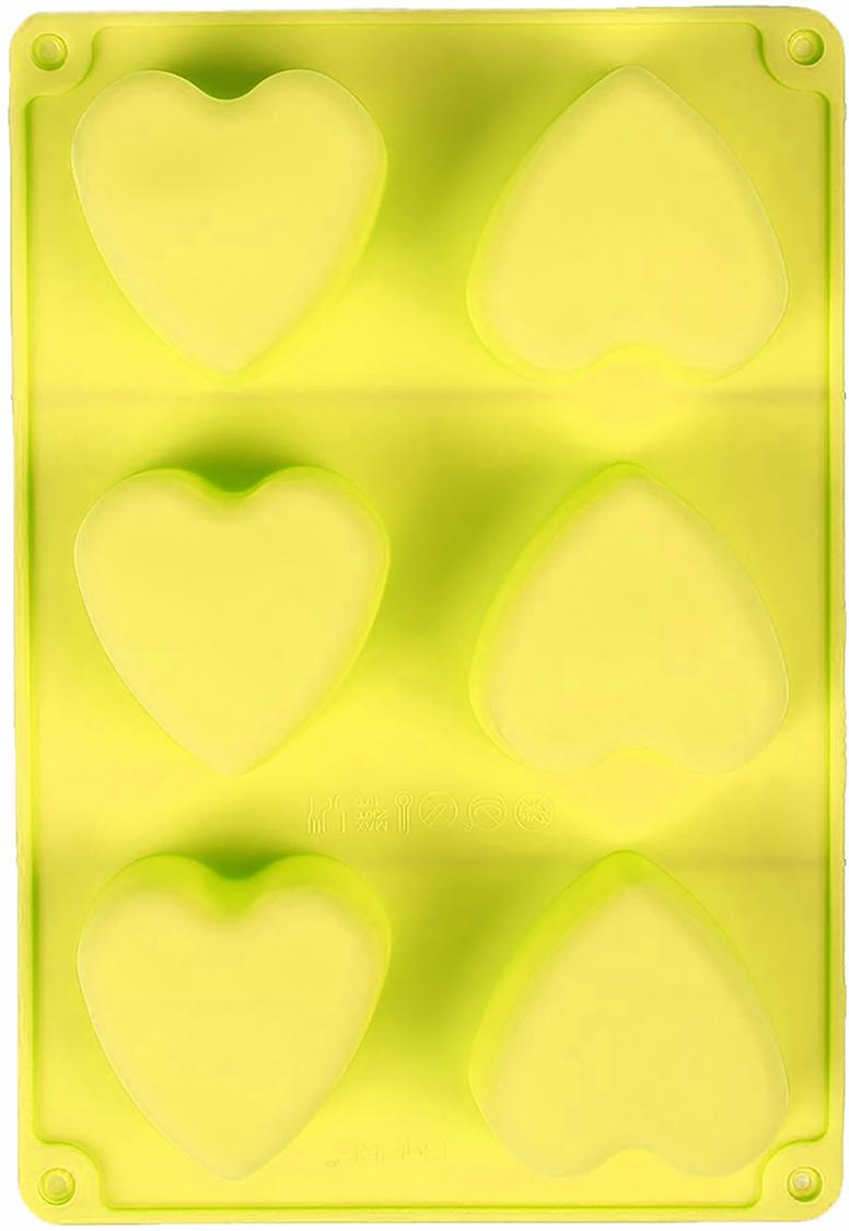 Форма для выпечки из силикона - современное решение для практичных и радушных хозяек.   Оригинальный предмет позволяет готовить в духовке любимые блюда из мяса, рыбы, птицы и   овощей, а также вкуснейшую выпечку.    Почему это изделие должно быть на кухне?  - блюдо сохраняет нужную форму и легко отделяется от стенок после приготовления;  - высокая термостойкость (от -40°C до +230°С) позволяет применять форму в духовых шкафах и   морозильных камерах;  - небольшая масса делает эксплуатацию предмета простой даже для хрупкой женщины;  - силикон пригоден для посудомоечных машин;  - высокопрочный материал делает форму долговечным инструментом;  - при хранении предмет занимает мало места.   Советы по использованию формы Перед первым применением промойте предмет тёплой водой.  В процессе приготовления используйте кухонный инструмент из дерева, пластика или   силикона.  Перед извлечением блюда из силиконовой формы дайте ему немного остыть, осторожно   отогните края предмета.   Готовьте с удовольствием!     Как выбрать форму для выпечки – статья на OZON Гид.