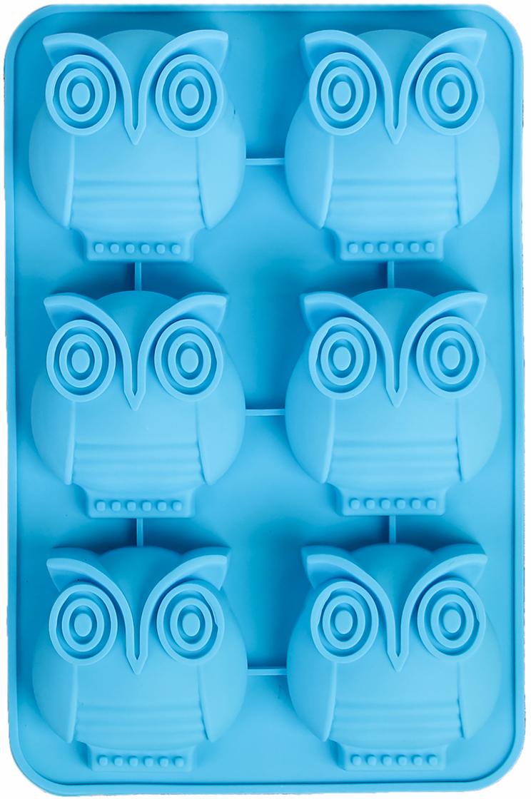 Форма для выпечки Доляна Совун, цвет: голубой, 6 ячеек, 26 х 16,5 х 3 см2389229_голубойОт качества посуды зависит не только вкус еды, но и здоровье человека. Форма для выпечки, 6 ячеек, 26х16,5х3 см Совун, цвета — товар, соответствующий российским стандартам качества. Любой хозяйке будет приятно держать его в руках. С нашей посудой и кухонной утварью приготовление еды и сервировка стола превратятся в настоящий праздник.
