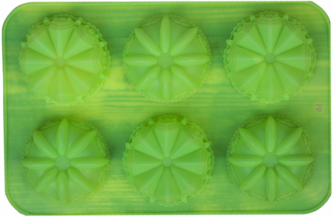 Форма для выпечки Доляна Немецкий кекс. Замок, цвет: зеленый, 6 ячеек, 29 х 18 см2570340_зеленыйОт качества посуды зависит не только вкус еды, но и здоровье человека. — товар, соответствующий российским стандартам качества. Любой хозяйке будет приятно держать его в руках. С нашей посудой и кухонной утварью приготовление еды и сервировка стола превратятся в настоящий праздник.