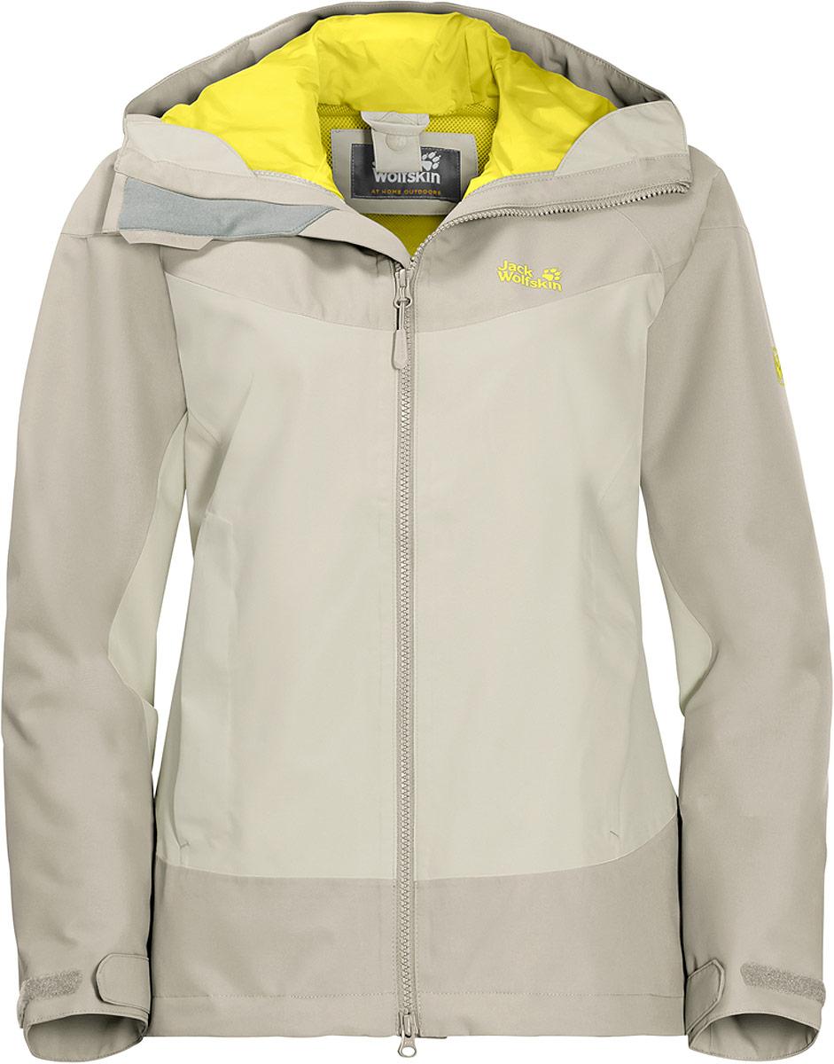 Куртка женская Jack Wolfskin North Ridge, цвет: серый. 1108492-5017. Размер XXL (56) куртки jack wolfskin куртка green terrain boys
