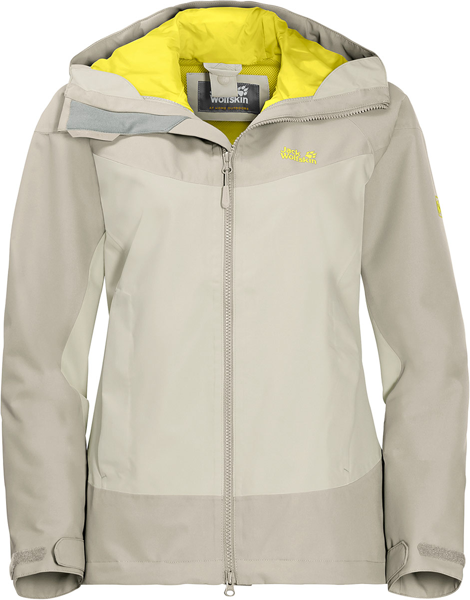 Фото - Куртка женская Jack Wolfskin North Ridge, цвет: серый. 1108492-5017. Размер XXL (56) ridge gourd seed quality