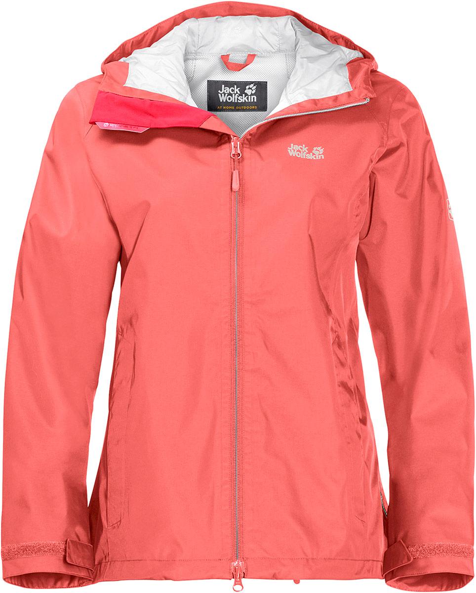 Куртка женская Jack Wolfskin Arroyo, цвет: розовый. 1108912-2086. Размер XXL (56) куртки jack wolfskin куртка green terrain boys