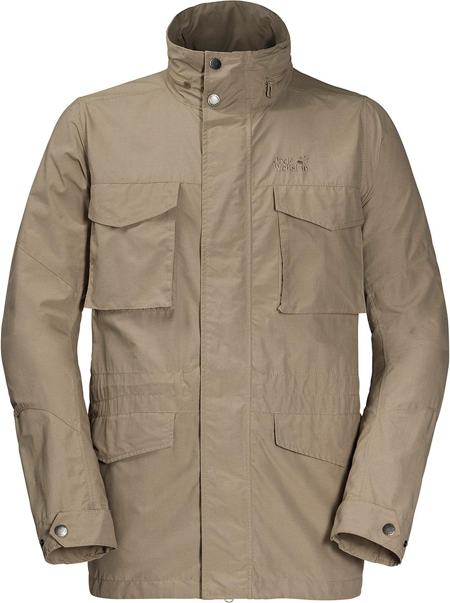Куртка мужская Jack Wolfskin Freemont Fieldjacket, цвет: бежевый. 1304422-5605. Размер XXL (54) куртки jack wolfskin куртка green terrain boys