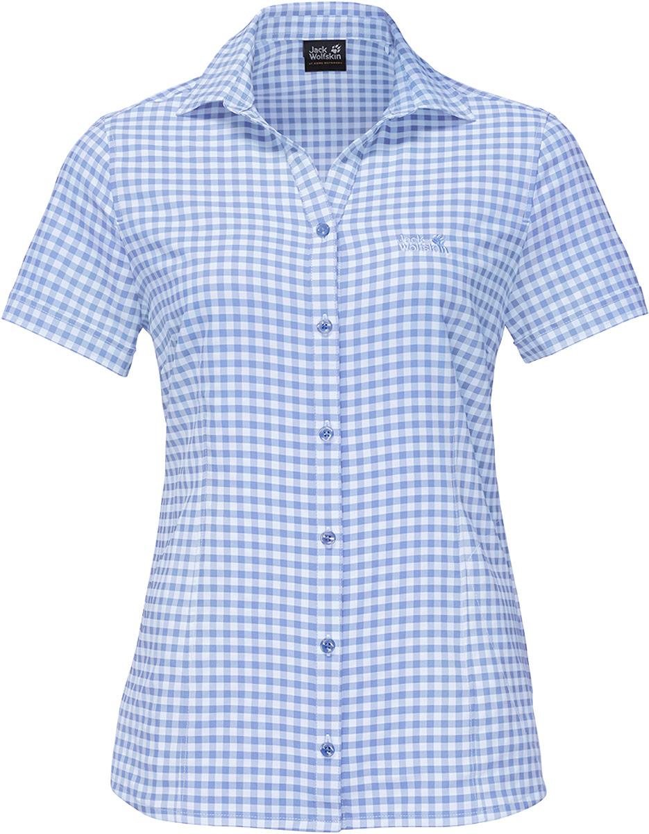 Рубашка женская Kepler Shirt W, цвет: голубой. 1401723-7741. Размер S (44) рубашки jack wolfskin рубашка hot chili men