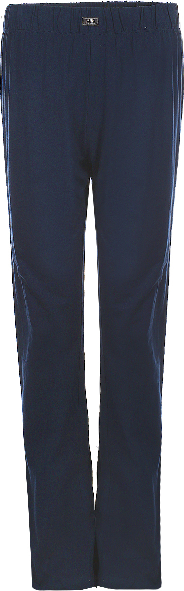 Брюки мужские Sela, цвет: темно-синий. PH-265/092-8131. Размер XL (52) брюки для дома мужские diesel цвет синий 00sj3i 0damk 05 размер xl 50