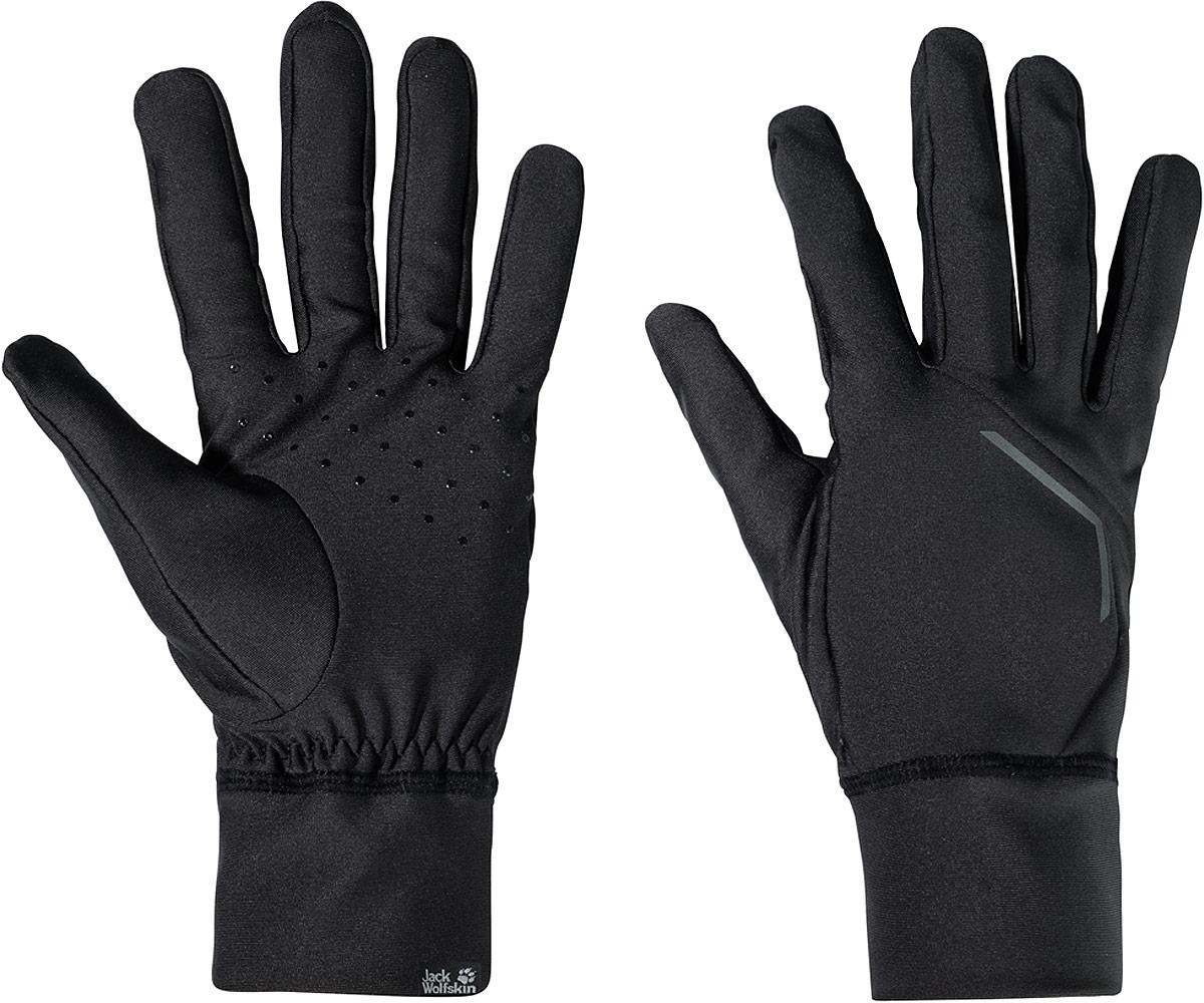Перчатки Jack Wolfskin Athletic Glove, цвет: черный. 1906821-6000. Размер XL (26/28) снуд jack wolfskin jack wolfskin ja021guwha98