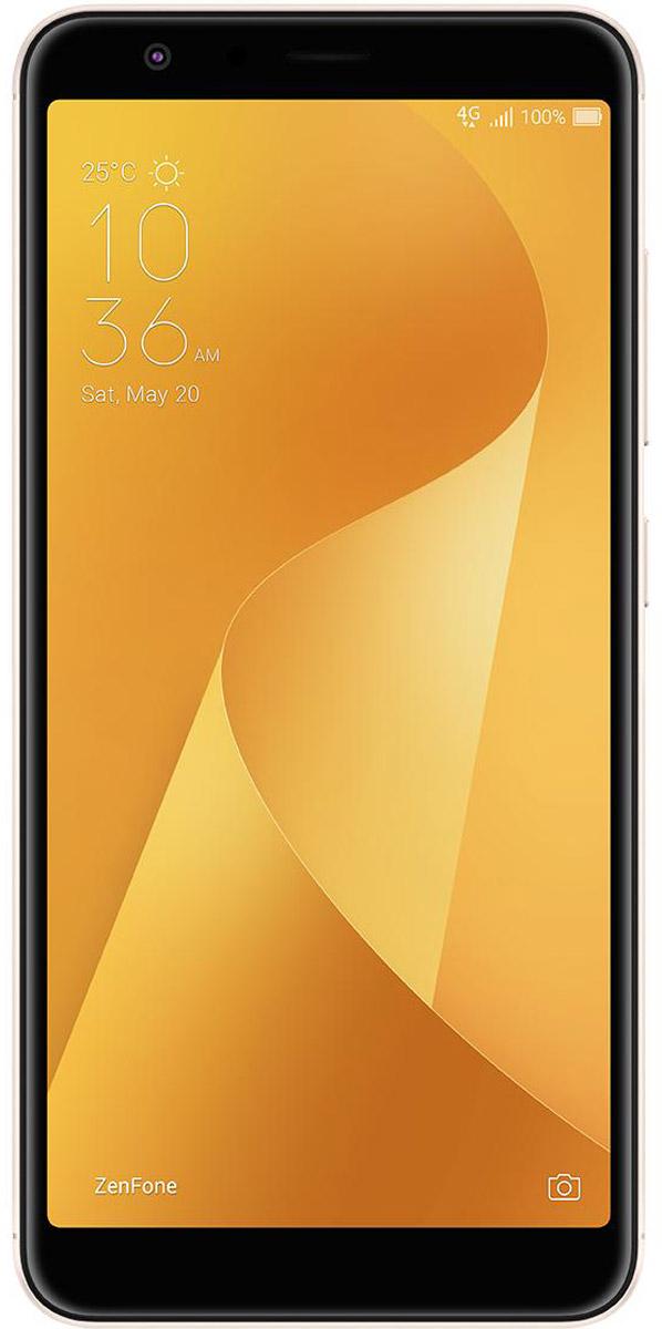 ASUS ZenFone Max Plus M1, Gold (90AX0183-M00100)90AX0183-M00100Смартфон ASUS ZenFone Max Plus M1 создан для людей, ведущих мобильный стиль жизни, и поэтому оснащается аккумулятором ёмкостью 4130 мАч - этого вполне достаточно для того, чтобы им можно было активно пользоваться целый день. Устройство наделено 5,7-дюймовым экраном с невероятно тонкой рамкой, а чтобы запечатлеть все памятные моменты, происходящие в течение насыщенного дня, у него имеется пара высококачественных тыловых камер, одна из которых обладает высоким разрешением (16 МП), а вторая - широкоугольным (120°) объективом.Любые изображения и видеоролики на экране смартфона ZenFone Max Plus M1 выглядят просто великолепно, ведь он оснащен большим 5,7-дюймовым дисплеем высокого разрешения (2160х1080 пикселей), покрытым защитным стеклом с закругленными краями. Относительная площадь экрана составляет целых 80% от размера всей передней панели корпуса!Благодаря тонкой экранной рамке 5,7-дюймовый ZenFone Max Plus M1 такой же компактный, как большинство стандартных смартфонов с 5,2-дюймовыми экранами. Эргономичная конструкция корпуса не только обеспечивает комфорт для пользователя, но и предоставляет больше экранного пространства при меньшем размере!ZenFone Max Plus M1 оснащается системой из двух тыловых камер, которые позволяют получать высококачественные снимки в различных условиях. Одна камера - с разрешением 16 мегапикселей и большой апертурой (f/2,0) - является основной и служит для обычной фотосъёмки, а вторая обладает широкоугольным (120°) объективом, который будет оптимален для пейзажных и групповых фото.Широкоугольная камера ZenFone Max Plus M1 обладает 120-градусным полем обзора, что в 2 раза превышает возможности стандартных смартфонных камер. Таким образом, в кадр помещается больше пространства и объектов, и это способствует получению красочных пейзажных снимков. Такая камера особенно пригодится при съёмке в тесном помещении, когда бывает невозможно сделать несколько шагов назад, чтобы поймать в кадр 
